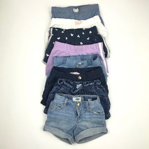 2T / 24 Months Shorts Bundle Carter's Old Navy H&M